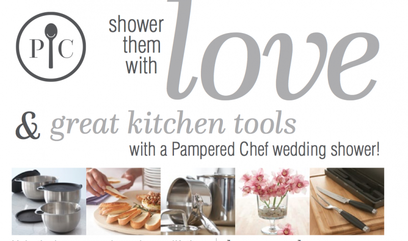pered chef bridal shower registry image cabinets and